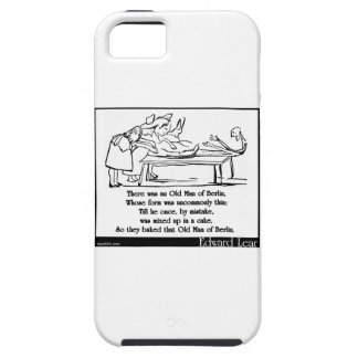 There was an Old Man of Berlin iPhone 5 Case