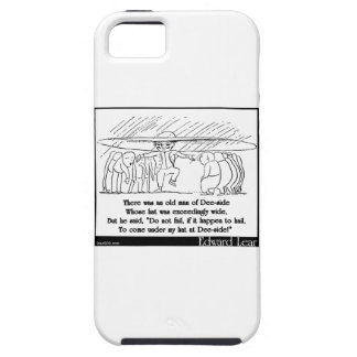 There was an old man of Dee-side iPhone 5 Cover