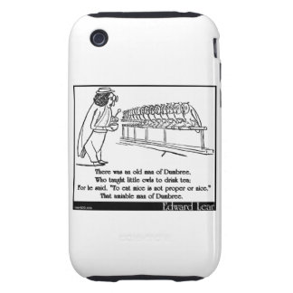 There was an old man of Dumbree iPhone 3 Tough Case