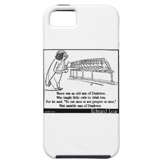 There was an old man of Dumbree iPhone 5 Covers
