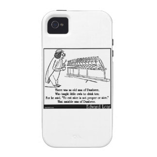 There was an old man of Dumbree iPhone 4 Cases