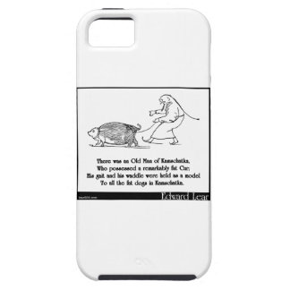 There was an Old Man of Kamschatka iPhone SE/5/5s Case