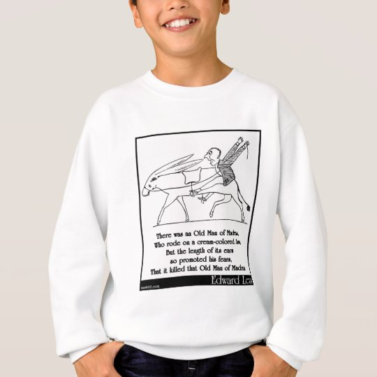 There was an Old Man of Madras Sweatshirt