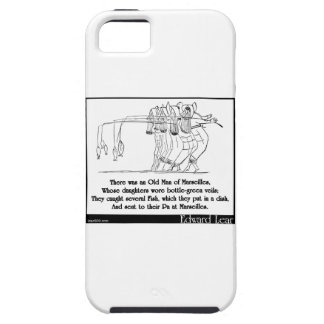 There was an Old Man of Marseilles iPhone SE/5/5s Case