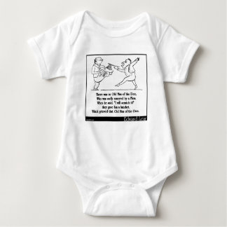 There was an Old Man of the Dee Baby Bodysuit
