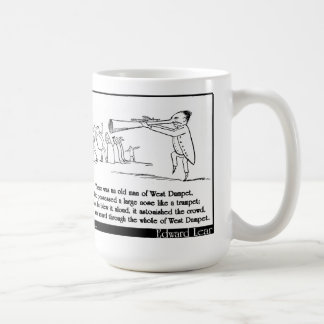 There was an old man of West Dumpet Coffee Mug