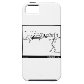 There was an Old Man on whose nose iPhone SE/5/5s Case