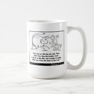 "There was an Old Man who said, ""How Coffee Mug"