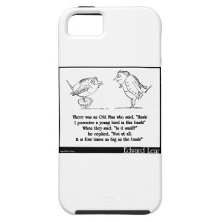 """There was an Old Man who said, """"Hush! iPhone SE/5/5s Case"""