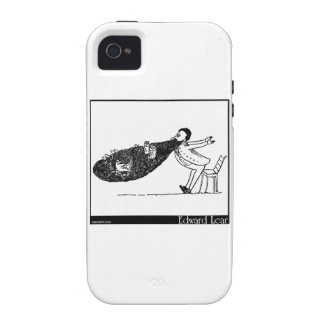 There was an Old Man with a beard iPhone 4/4S Cover