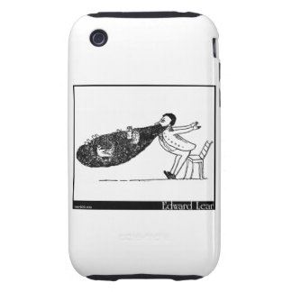 There was an Old Man with a beard Tough iPhone 3 Case