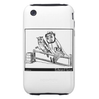 There was an Old Man with an Owl iPhone 3 Tough Case