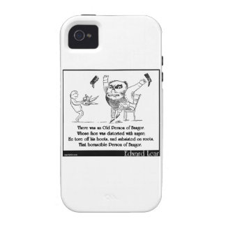 There was an Old Person of Bangor Case-Mate iPhone 4 Covers