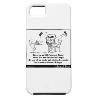 There was an Old Person of Bangor iPhone SE/5/5s Case