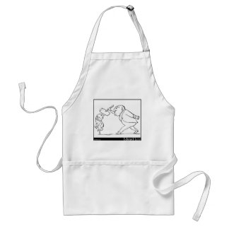 There was an Old Person of Buda Adult Apron