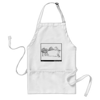 There was an old person of Cannes Adult Apron