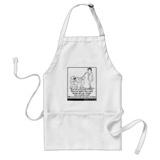 There was an old person of Cassel Adult Apron
