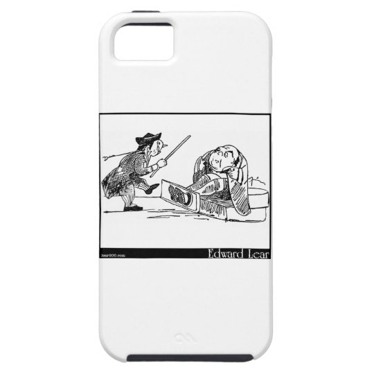 There was an Old Person of Cheadle iPhone SE/5/5s Case