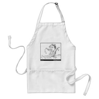 There was an Old Person of Chili Image Adult Apron