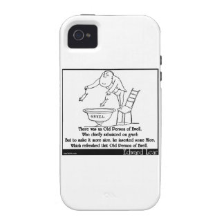 There was an Old Person of Ewell Vibe iPhone 4 Case