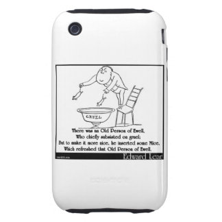 There was an Old Person of Ewell iPhone 3 Tough Cases