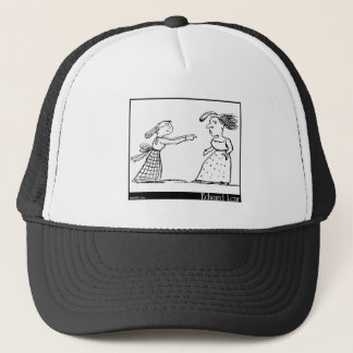 There was an old person of Loo Trucker Hat