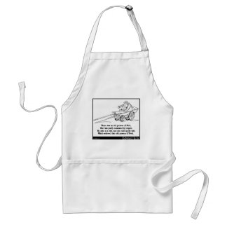 There was an old person of Pett Adult Apron