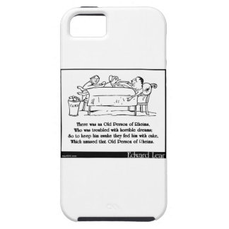 There was an Old Person of Rheims iPhone SE/5/5s Case