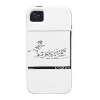 There was an old person of Shields iPhone 4/4S Cases