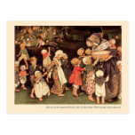 There Was An Old Woman Nursery Rhyme - Postcard