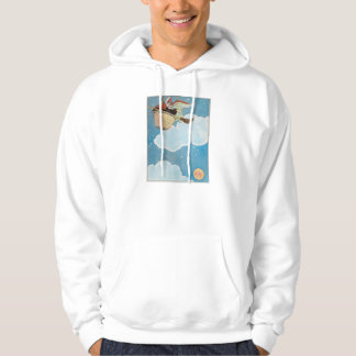 There was an old woman tossed in a basket, hoodie