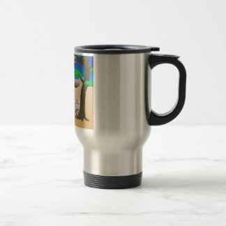 There Were 30 Foot Sloths... Seriously. Travel Mug
