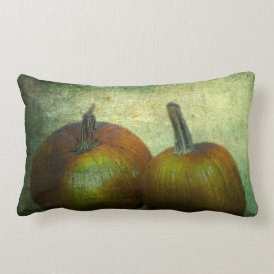 There Were Never Such Devoted Pumpkins Lumbar Pillow