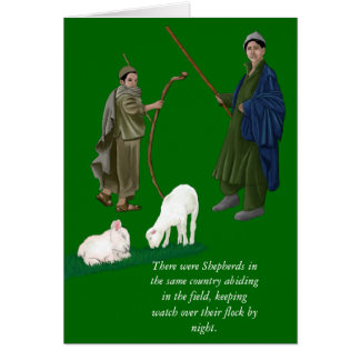 THERE WERE SHEPHERDS/CHRISTMAS CARD