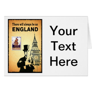 There Will Always be an England Greeting Card