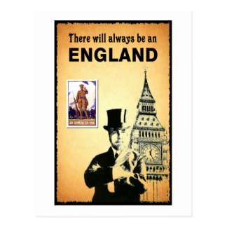 There Will Always be an England Postcard