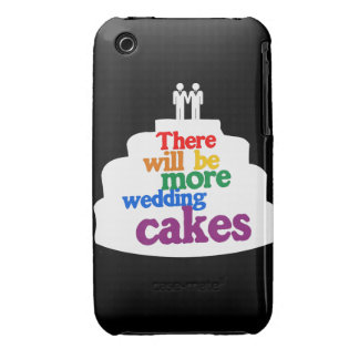 THERE WILL BE MORE WEDDING CAKES Case-Mate iPhone 3 CASES