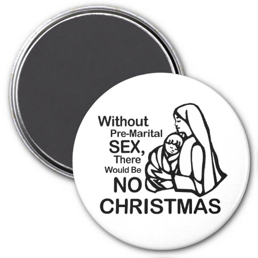 There would be no Christmas Fridge Magnets