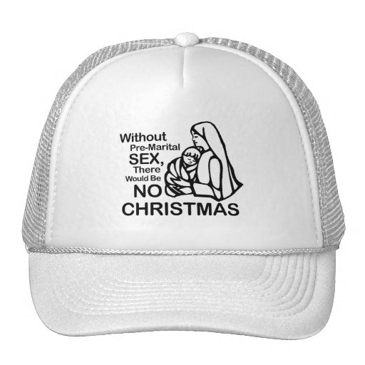 There would be no Christmas Mesh Hat