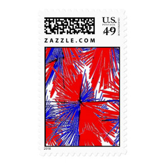 THERED THEWHITE AND THEBLUE, THERED THEWHITE AN... POSTAGE STAMPS