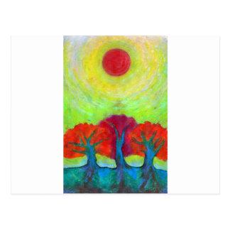 Theree Sun Postcard