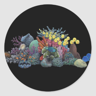 TheReef Lives Classic Round Sticker