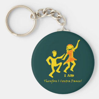 Therefore I Contra Dance Key Chain