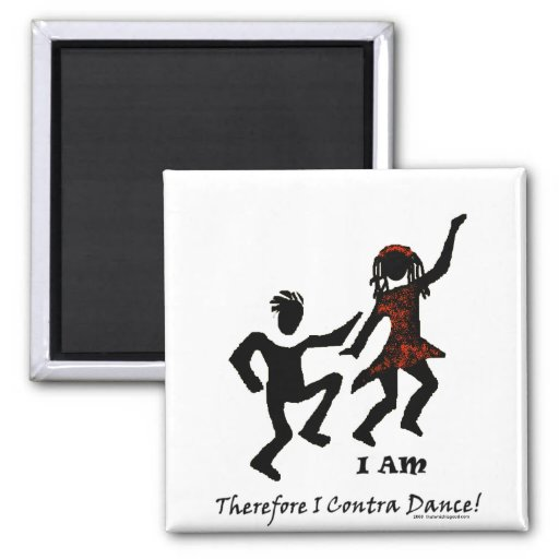 Therefore I Contra Dance Magnet