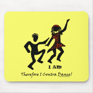 Therefore I Contra Dance Mouse Pad