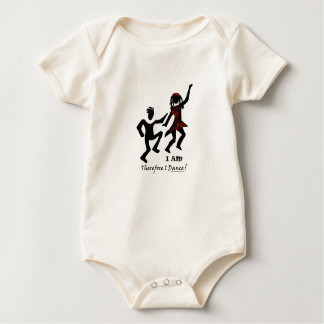 Therefore I Dance Baby Bodysuit