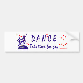 Therefore I Dance Car Bumper Sticker