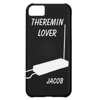 Theremin iPhone 5C Case with Custom Name