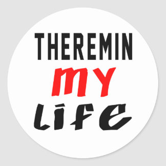 Theremin my life stickers