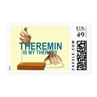 Theremin Therapy Postage Stamp